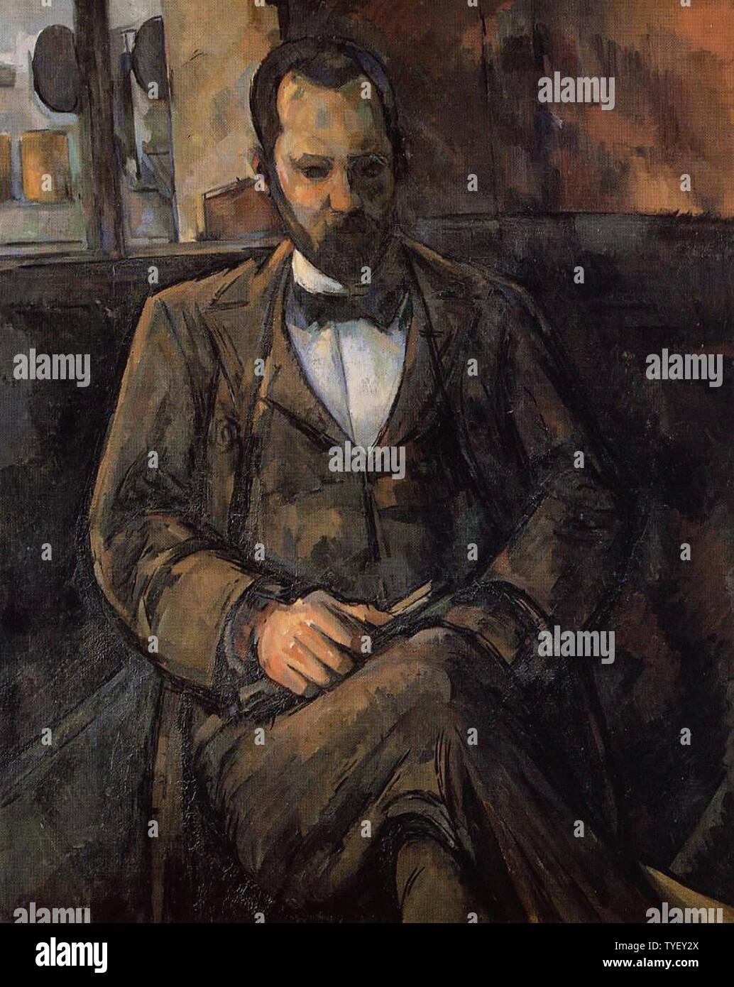 Paul Cézanne - Portrait Ambroise Vollard 1899 - Stock Image