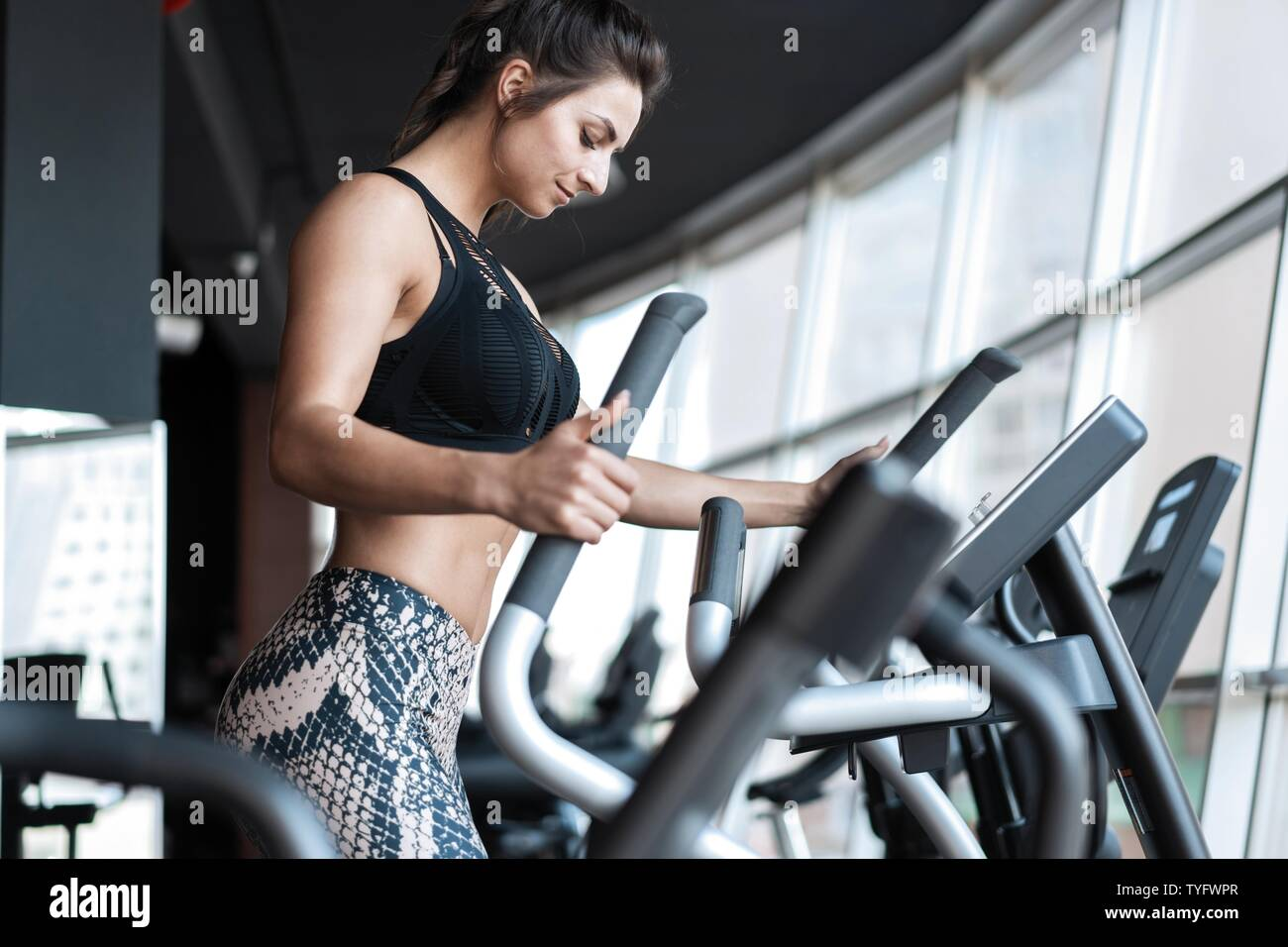Cardio Machine High Resolution Stock Photography And Images Alamy