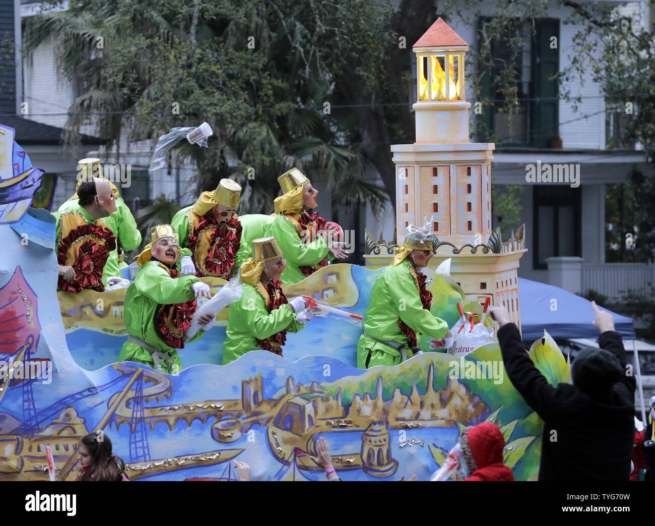 Krewe Of Proteus High Resolution Stock Photography And Images Alamy