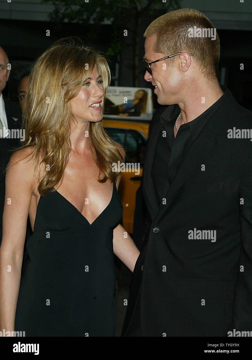 Jennifer Aniston and husband Brad Pitt have reportedly