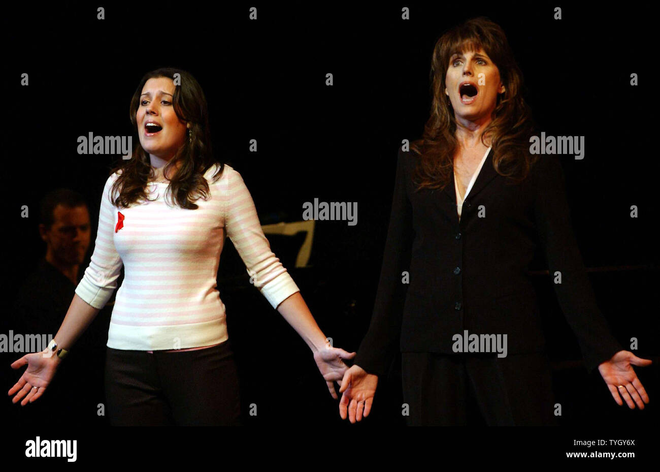 Katharine Luckinbill Left And Her Mom Lucie Arnaz Perform Hey Look Me Over From The Cy Is katharine luckinbill in a relationship? https www alamy com katharine luckinbill left and her mom lucie arnaz perform hey look me over from the cy coleman musical wildcat which starred lucie mom lucille ball at the jan 10 2005 memorial service for composer cy coleman held at broadways majestic theatre coleman died at the age of 75 in nov 2004 upi photoezio petersen image257913458 html
