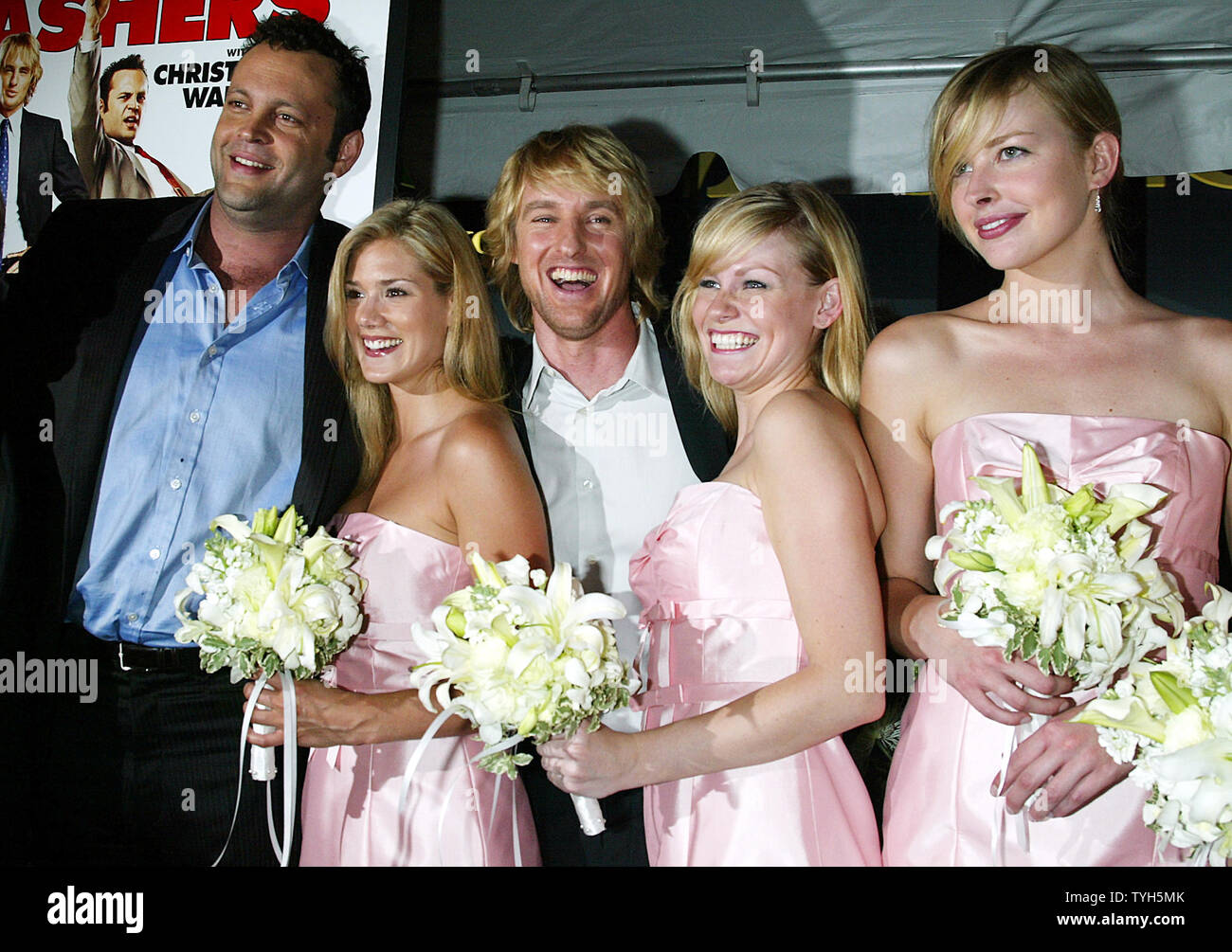 Vince Vaughn Wedding >> Owen Wilson Right And Vince Vaughn Arrive For The Premiere
