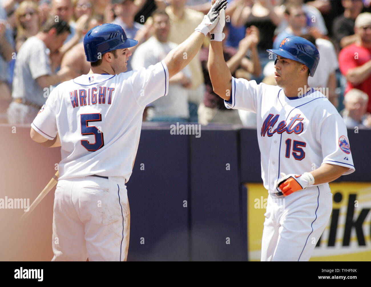 Carlos Beltran Right Of The New York Mets Is