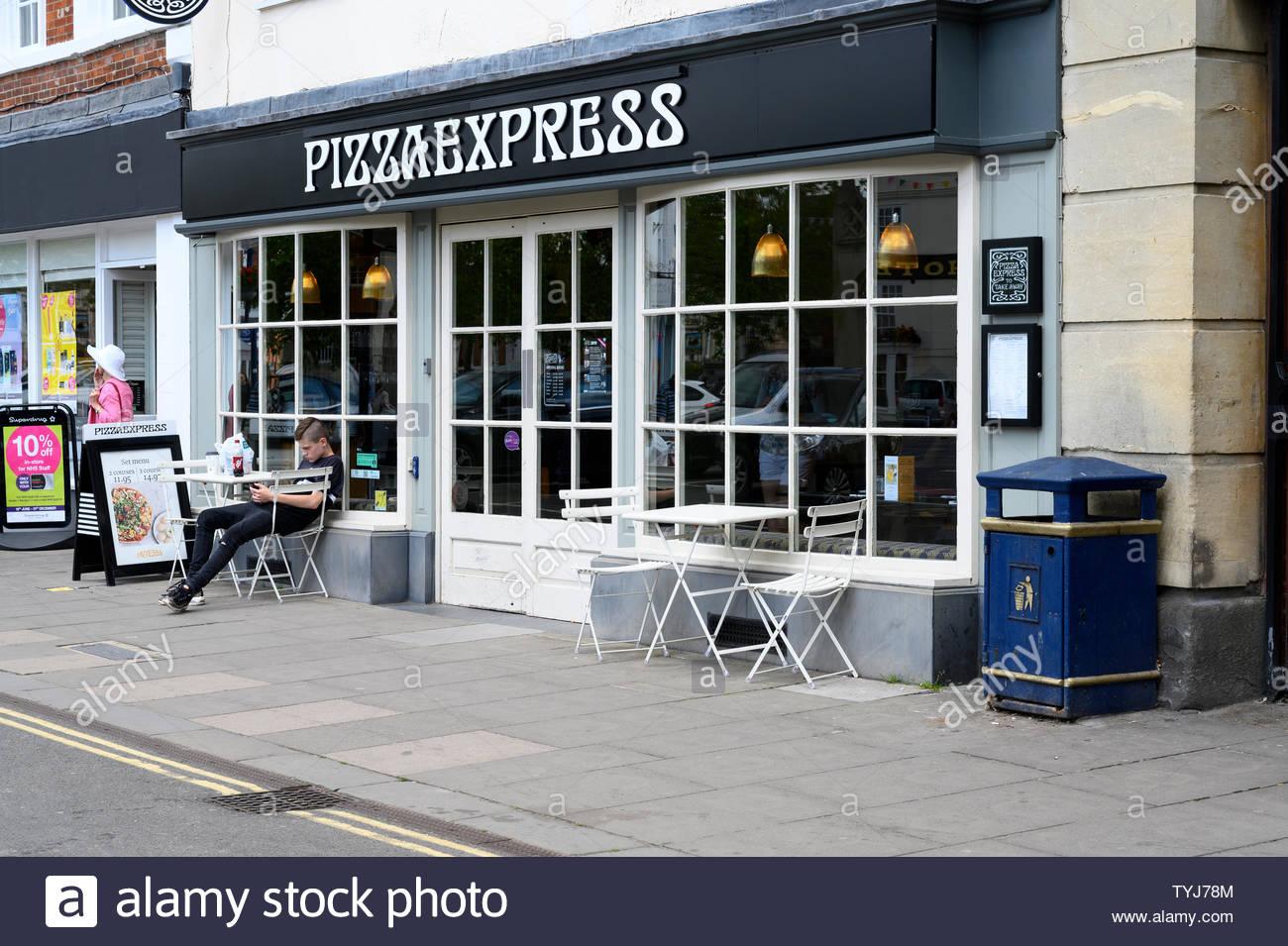 Pizza Express Restaurant Chain Stock Photos Pizza Express