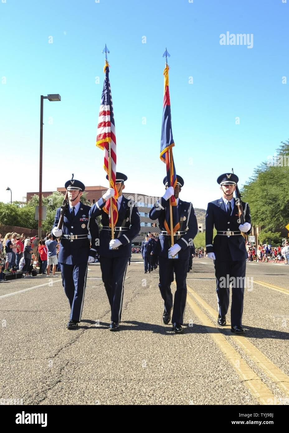 Veterans Day Parade And Ceremonies Stock Photos & Veterans Day