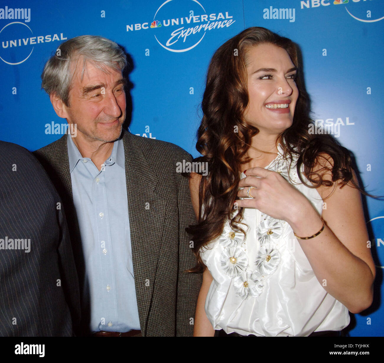 Actor Sam Waterston of the tv series: Law and Order and
