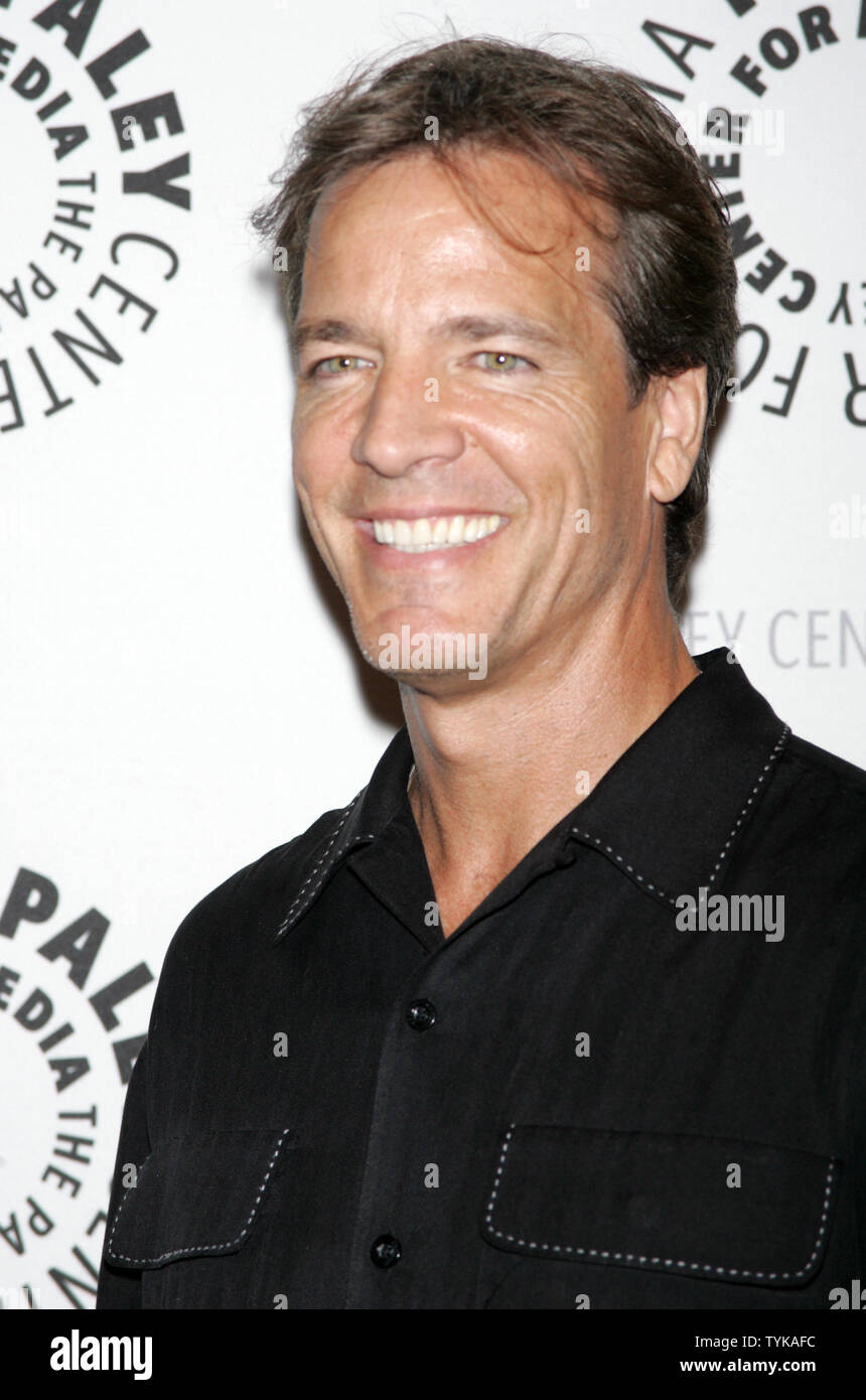 Bradley Cole arrives for the Goodbye to 'Guiding Light', 72 Years Young event at the Paley Center for Media in New York on August 19, 2009.       UPI Photo/Laura Cavanaugh - Stock Image