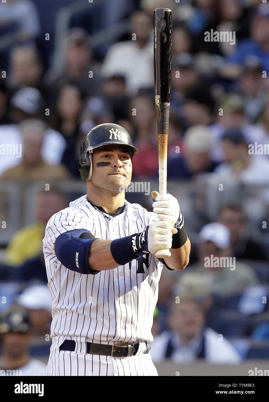 buy online d664b 5e2b6 New York Yankees Nick Swisher stands at the plate in the ...