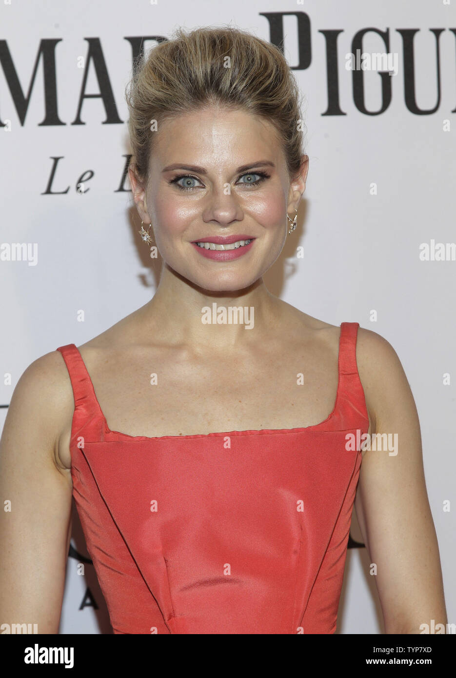 Celia Keenan-Bolger arrives on the red carpet at the 68th Tony Awards at Radio City Music Hall in New York City on June 8, 2014. The annual awards, which are presented by the American Theatre Wing, recognizes the achievements of Broadway theater.     UPI/John Angelillo. - Stock Image