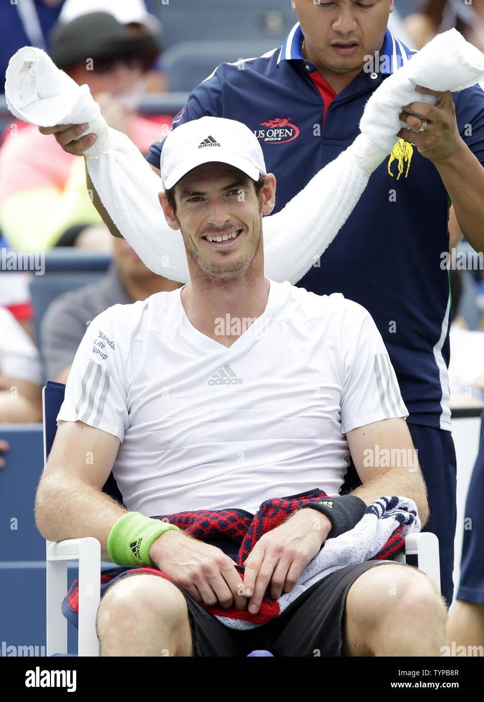 Andy Murray BEACH TOWEL NEW Summer Tennis Wimbledon US Open British
