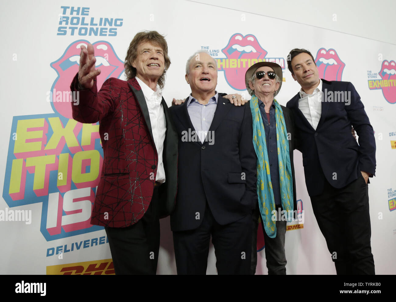 The Rolling Stones Band Stock Photos & The Rolling Stones