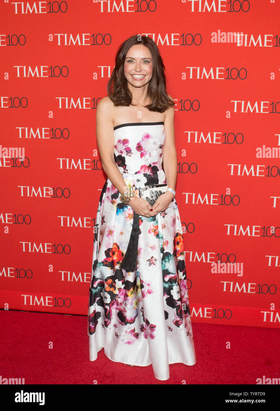 Kirsten Green arrives on the red carpet at the TIME 100 Gala at