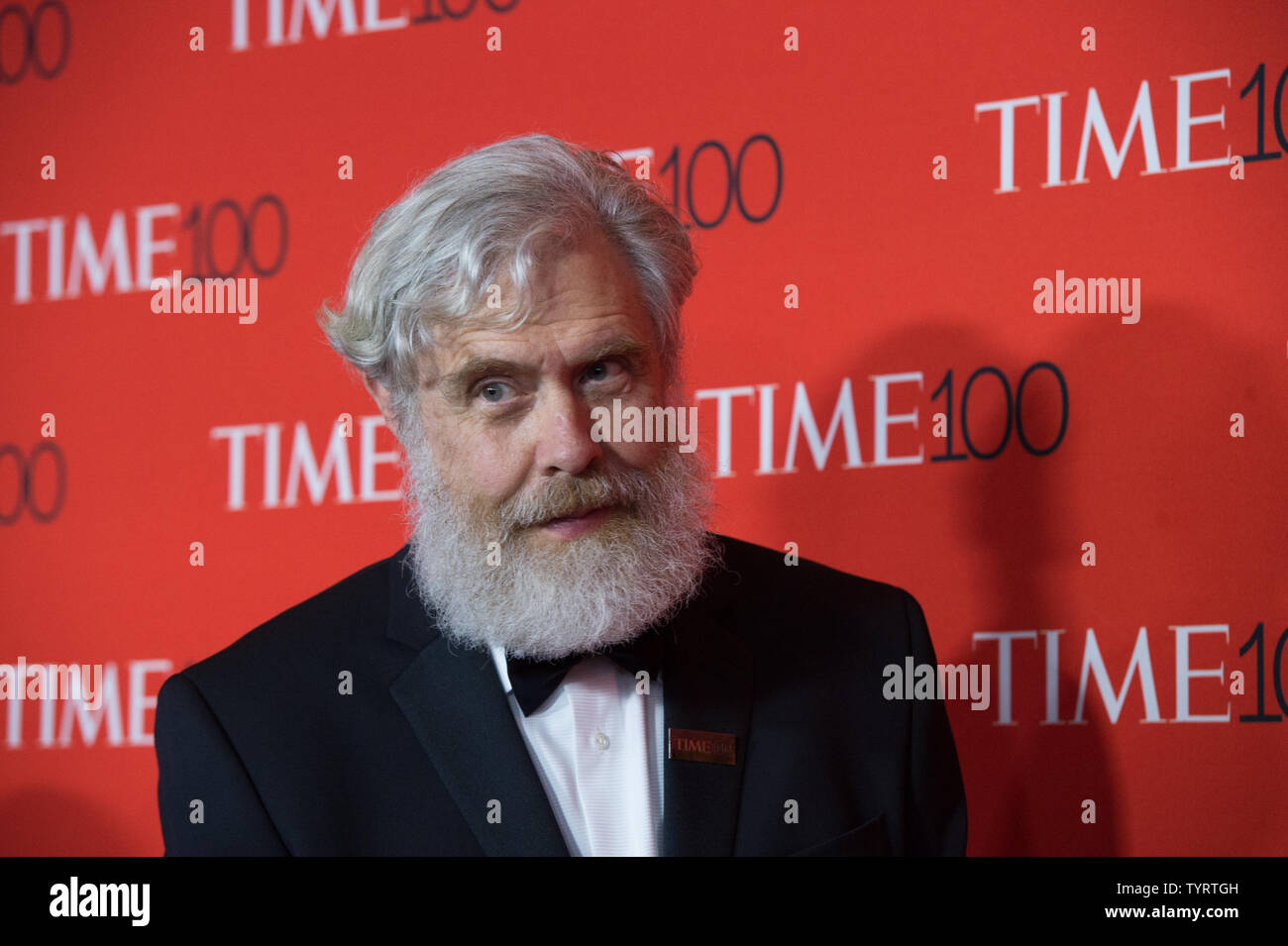George Church arrives on the red carpet at the TIME 100 Gala