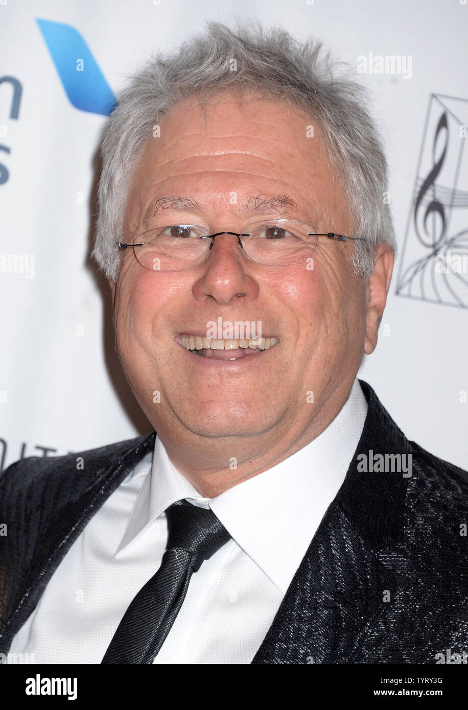 Alan Menken arrives on the red carpet at the Songwriters Hall Of Fame 48th Annual Induction and Awards at New York Marriott Marquis Hotel on June 15, 2017 in New York City.    Photo by Dennis Van Tine/UPI - Stock Image
