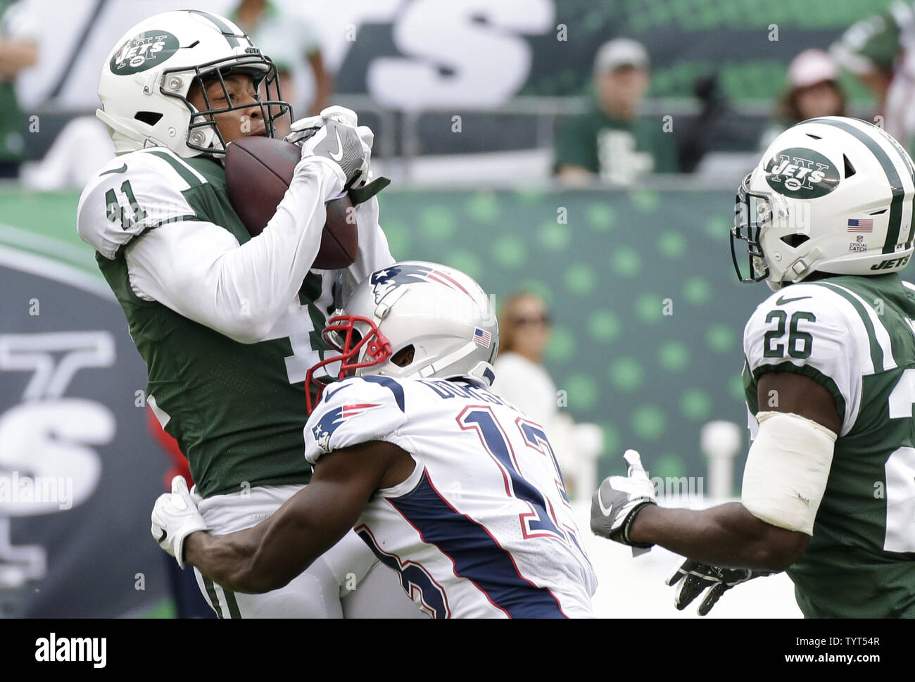 newest c7350 77382 New York Jets Buster Skrine makes an interception in the ...