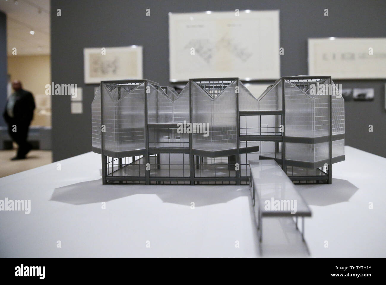 3fe4f53032518 Drawings, models and photographs are on display when The Museum of ...