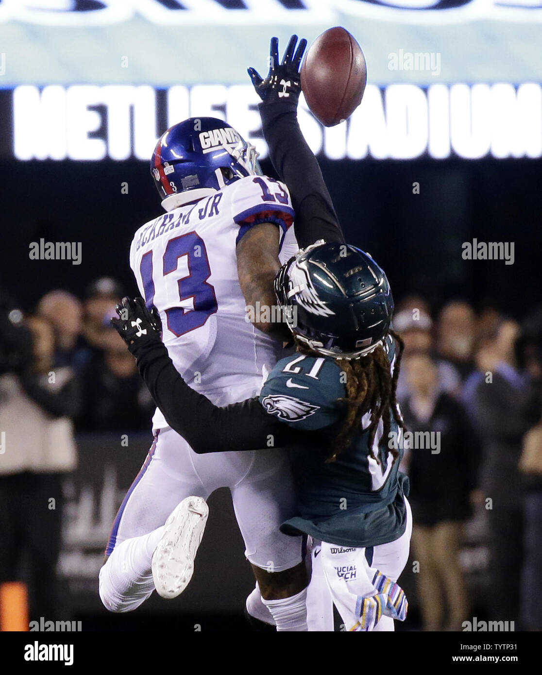 low priced 980d6 4977f Philadelphia Eagles Ronald Darby breaks up a pass intended ...