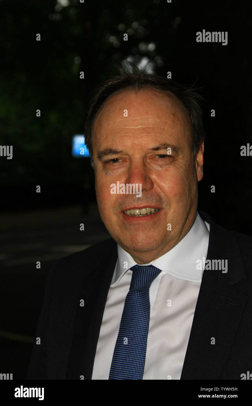 NIGEL DODDS DUP MP PHOTOGRAPHED IN WESTMINSTER, LONDON, UK ON 26TH JUNE 2019. BRITISH POLITICIANS. UK POLITICS. IRISH POLITICIANS. DEMOCRATIC UNIONIST PARTY. UNIONIST POLITICIANS. NORTHERN IRELAND ASSEMBLY. BELFAST. - Stock Image