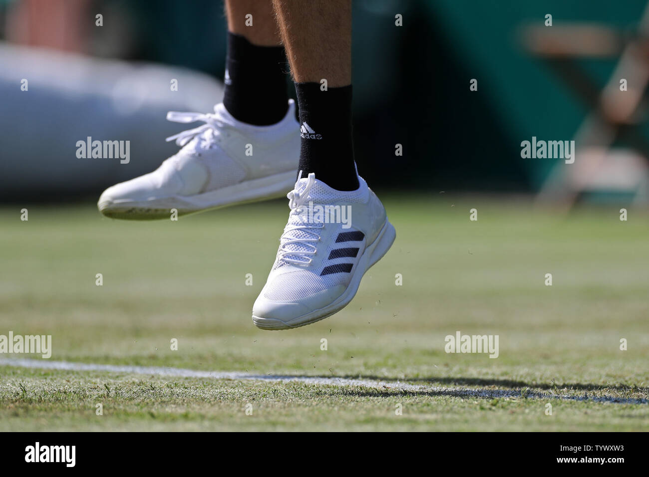 Stoke Poges England 26th June Stefanos Tsitsipas Gre Wears Adidas During The Boodles Tennis Challenge At Stoke Park Stoke Poges On Wednesday 26th June 2019 Credit Jon Bromley Mi News Credit