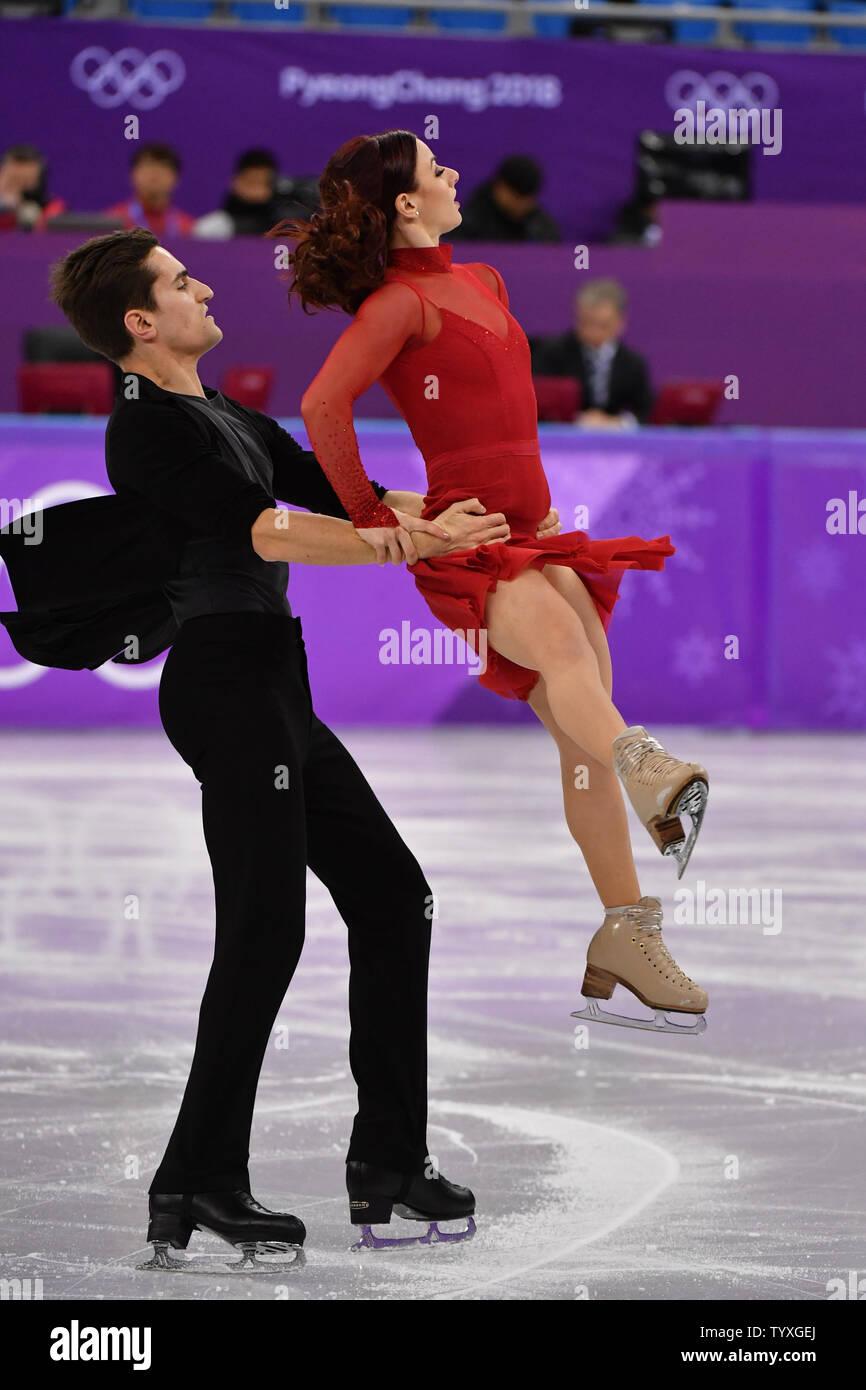 Dancers ice olympic french Gabriella Papadakis