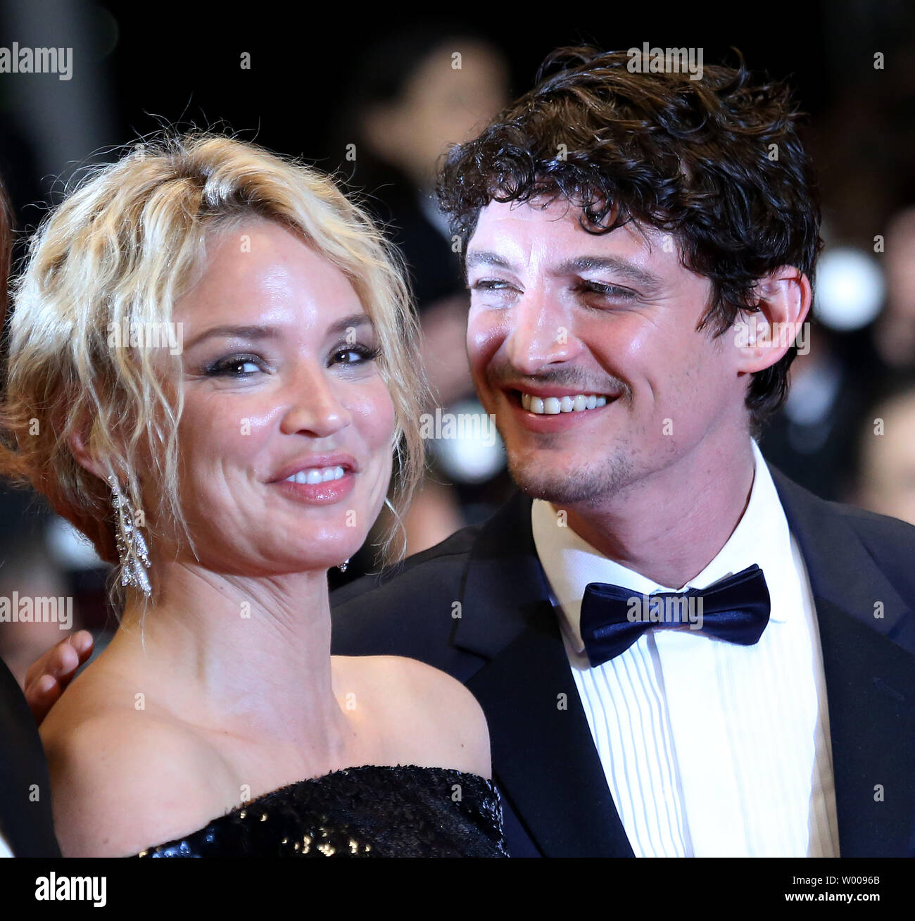 Virginie Efira And Niels Schneider Arrive On The Red Carpet After The Screening Of The Film Sybil At The 72nd Annual Cannes International Film Festival In Cannes France On May 24 2019