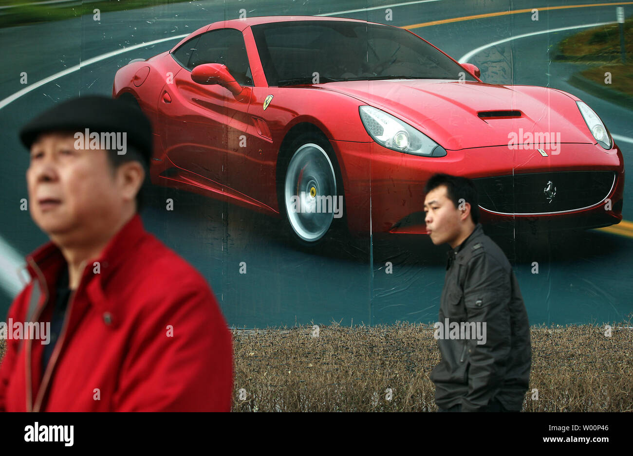 Ferrari Advertisement High Resolution Stock Photography And Images Alamy