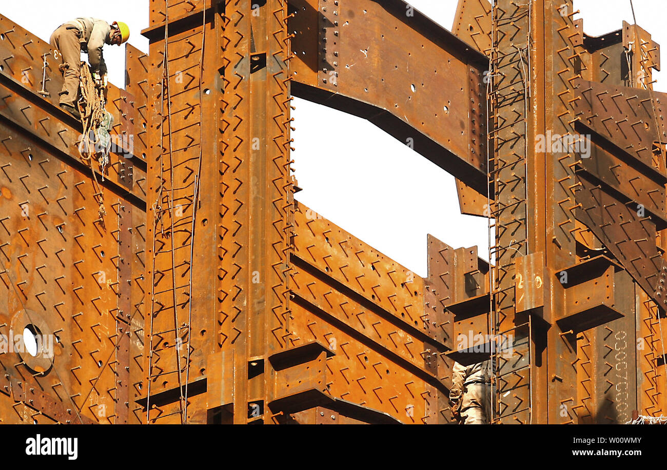 Best Market Sectors For 2020 A Chinese construction laborer works on new, massive construction