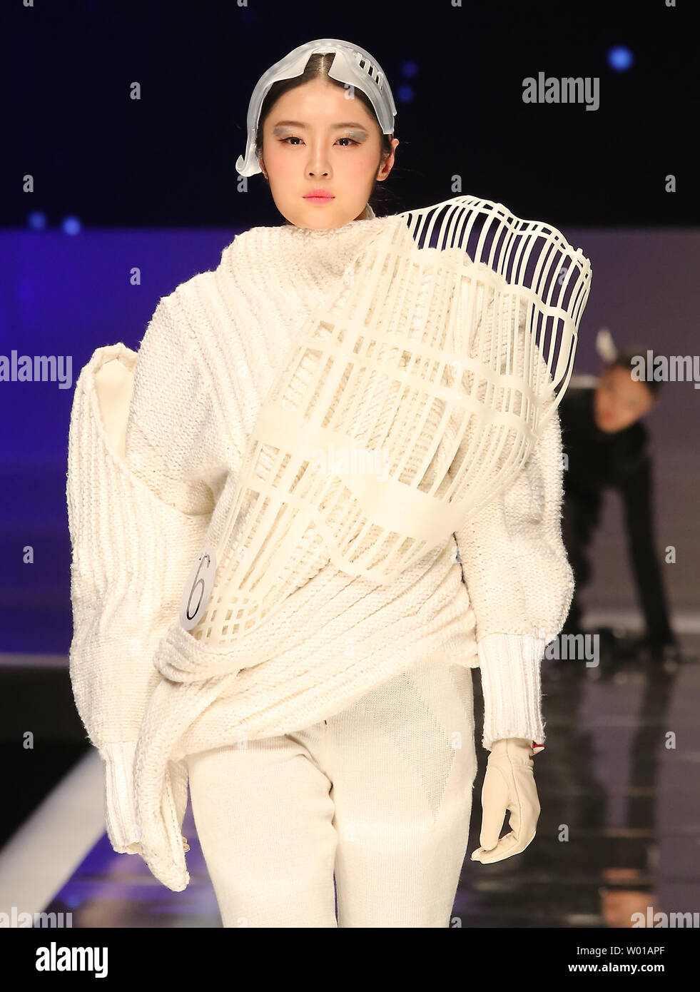 Chinese Models Showcase Fashion Designs During The Opening Ceremony Fashion Show China International Young Fashion Designers Contest Final At The Start Of China S Fashion Week In Beijing On March 25 2016 Chinese