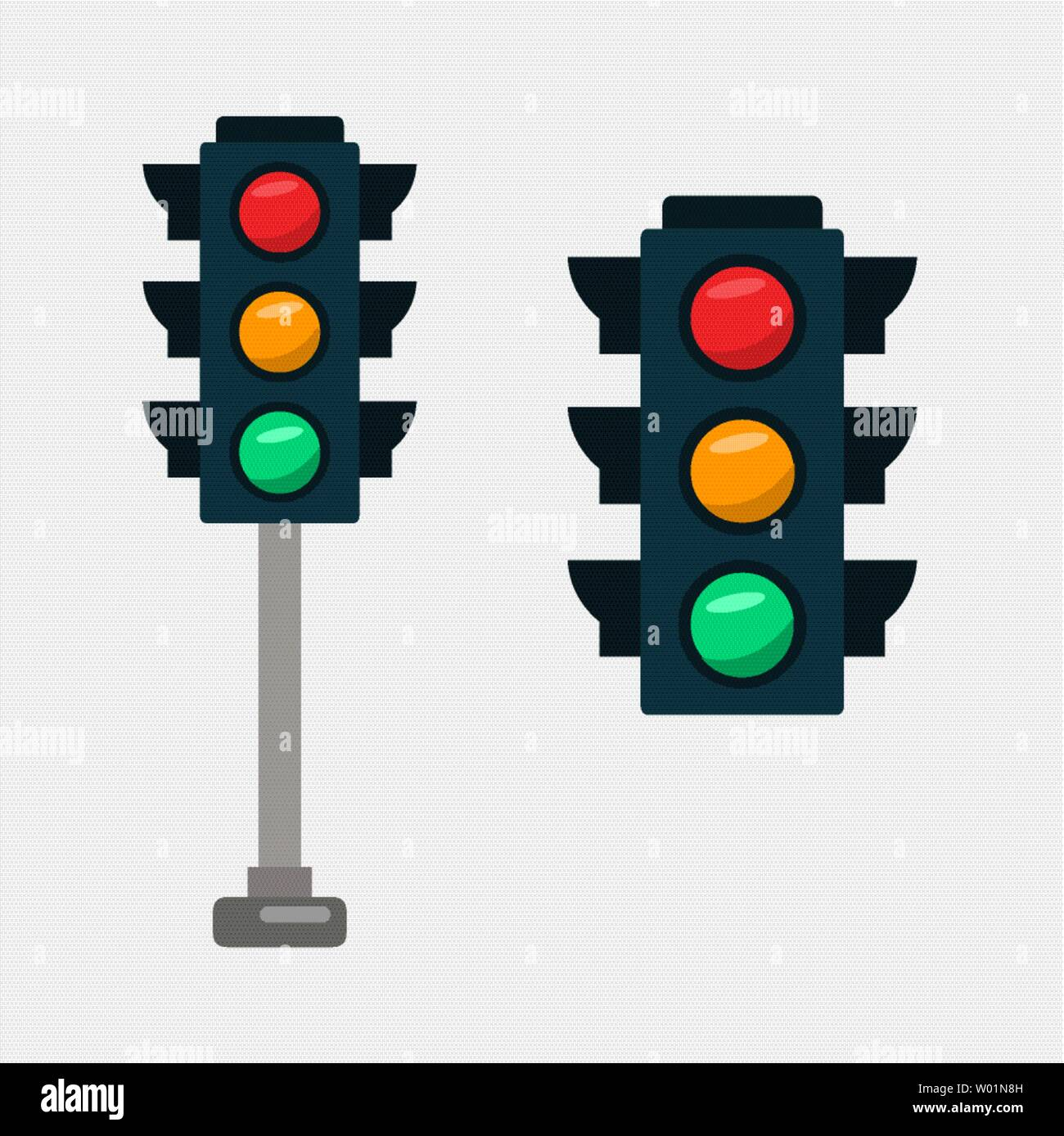 traffic light vector illustration stock vector image art alamy https www alamy com traffic light vector illustration image258194177 html