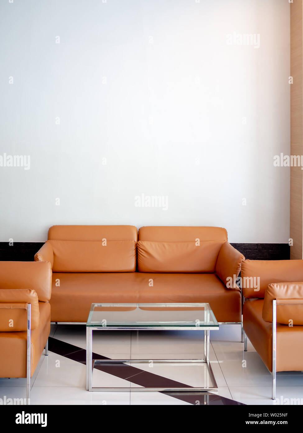 Hat Yai, Songkhla,Thailand - May 5, 2019 : Modern orange leather ...