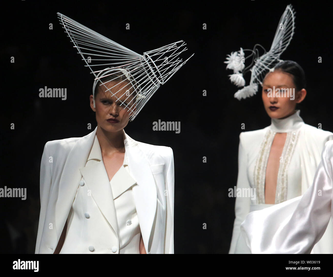 Chinese And European Models Wear Clothing From The Maryma 2017 Collection During China S International Fashion Week In Beijing On October 29 2016 Chinese Fashion Designers Are Becoming An International Force With Both