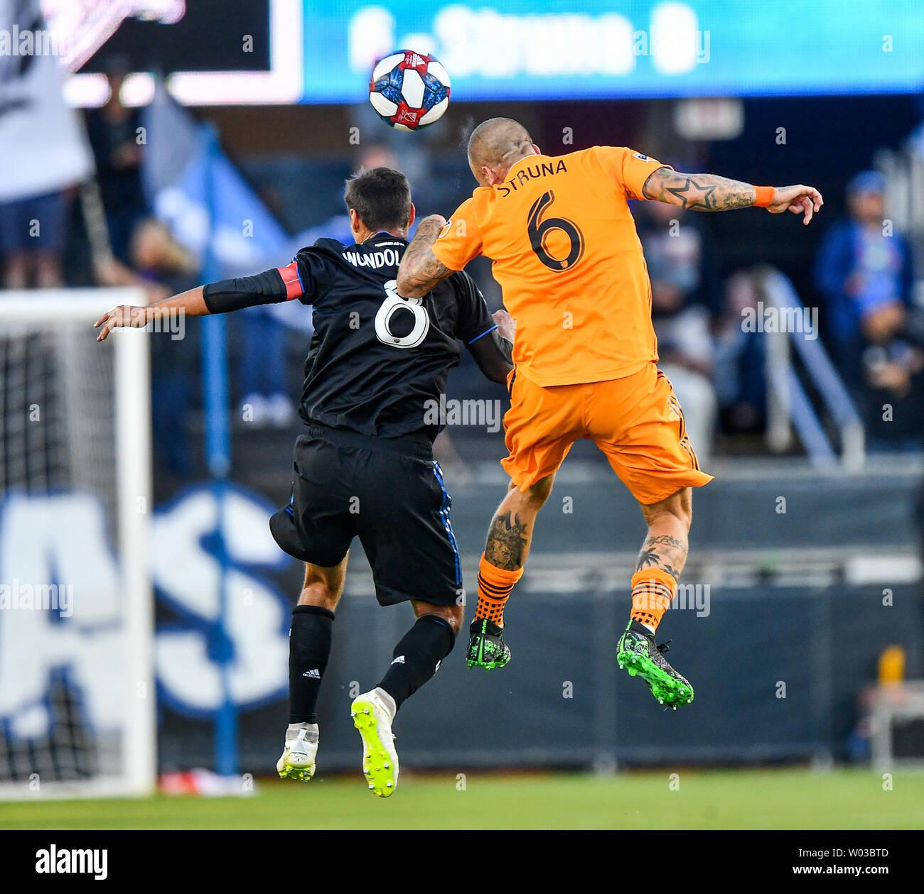 San Jose, California, USA  26th June, 2019  Houston Dynamo