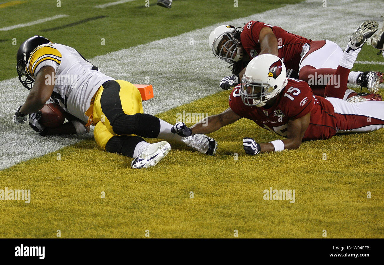 meet 86531 145a9 Pittsburgh Steelers linebacker James Harrison scores over ...