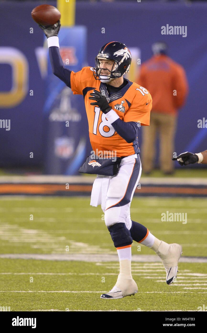 info for abd24 102cc Denver Broncos quarterback Peyton Manning (18) throws a pass ...