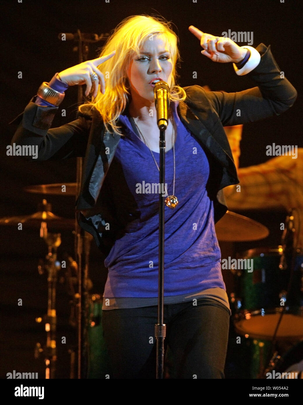 Natasha Bedingfield performs in concert at San Diego State