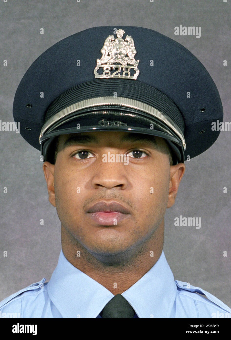 The St. Louis Metropolitan Police Department has released a photograph of police officer Norvelle Brown (22) on August 16, 2007, who was shot and killed during a car stop in north St. Louis on August 15, 2007. Police say the officer's service weapon and another weapon were recovered at the scene but no suspects have been apprehended yet. Brown had been a police officer for less than one year. (UPI Photo/St. Louis Metropolitan Police Department) Stock Photo