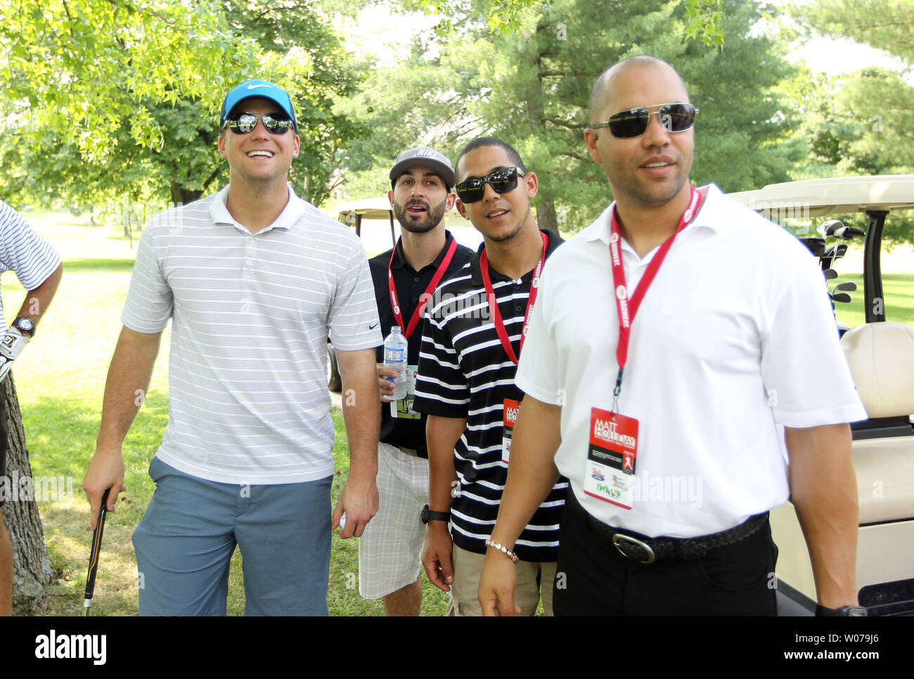 St Louis Cardinals Players L To R Trevor Rosenthal