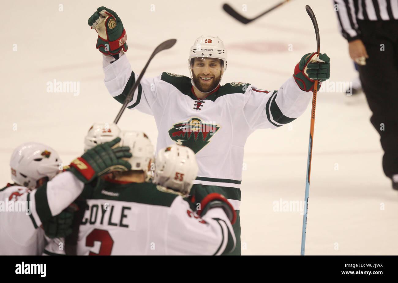 Minnesota Wild Jason Zucker Is All Smiles As He Joins Teammates To