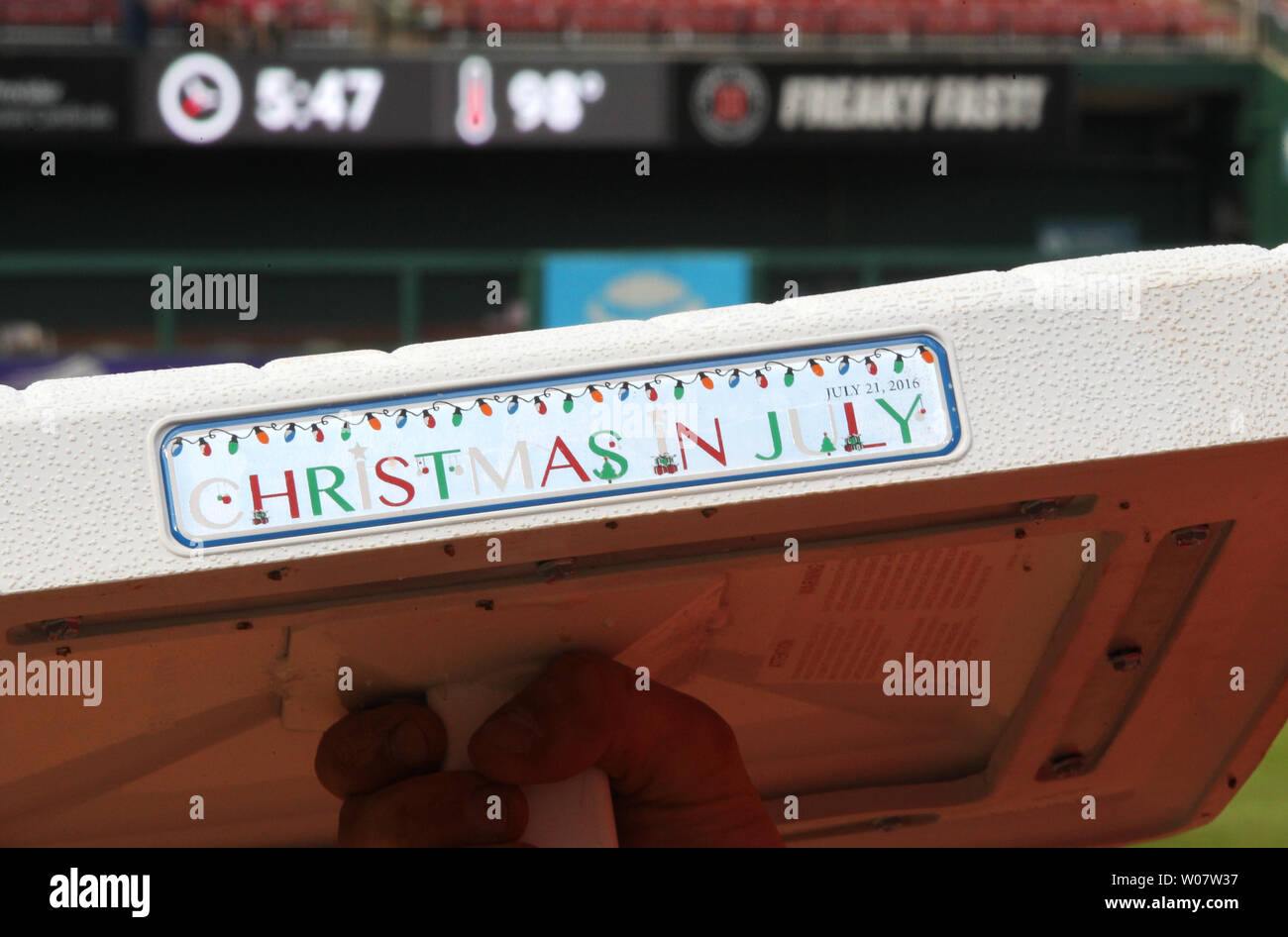 Christmas In July At Busch Stadium 2020 Day Christmas In July High Resolution Stock Photography and Images   Alamy