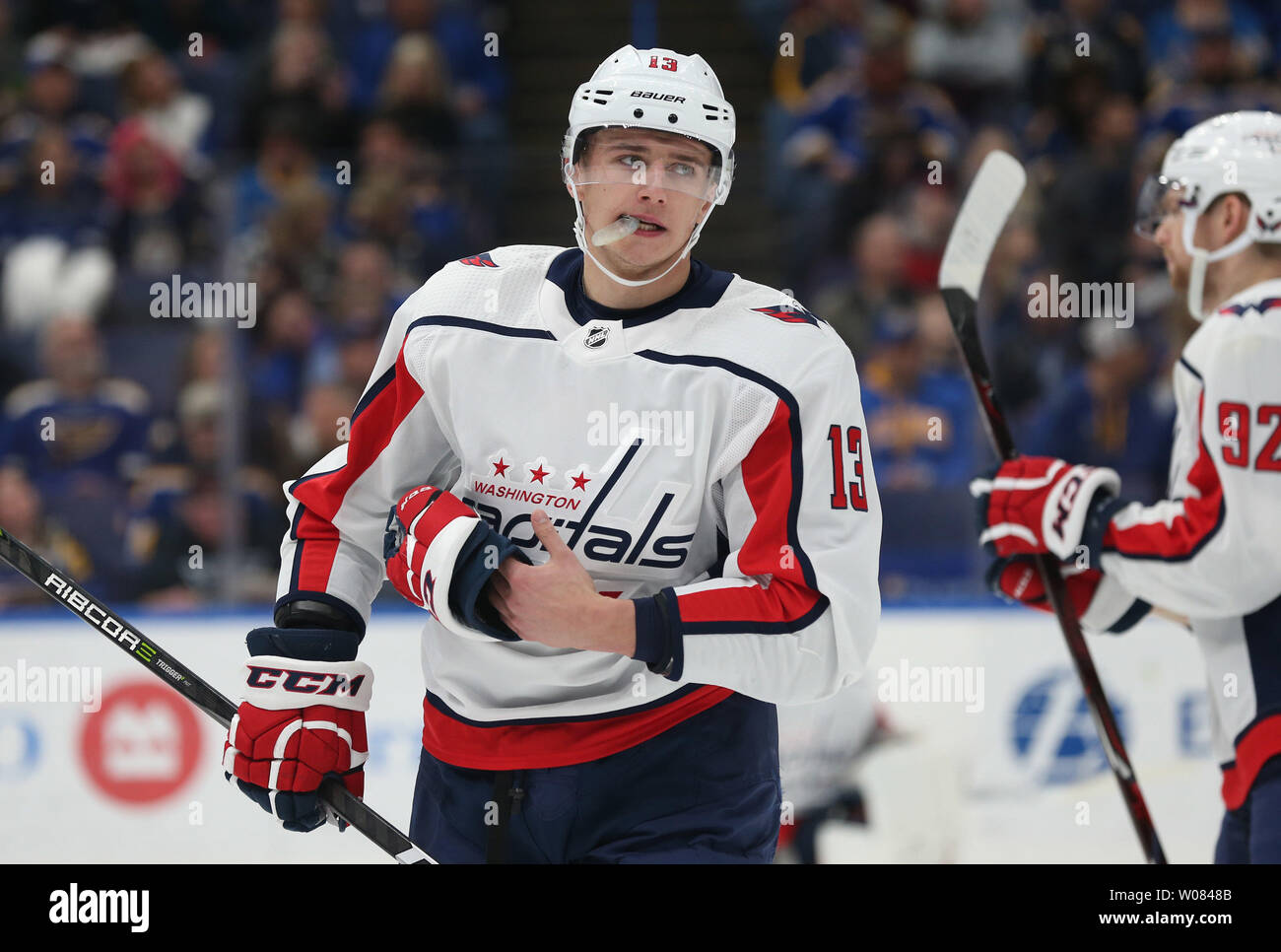 wholesale dealer 69da2 c43c6 Washington Capitals Jakub Vrana of the Czech Republic skates ...