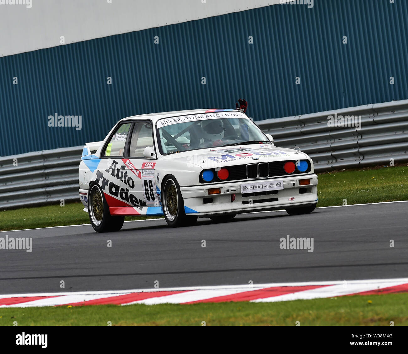 Nick Whale Harry Whale Bmw E30 M3 Historic Touring Car Challenge