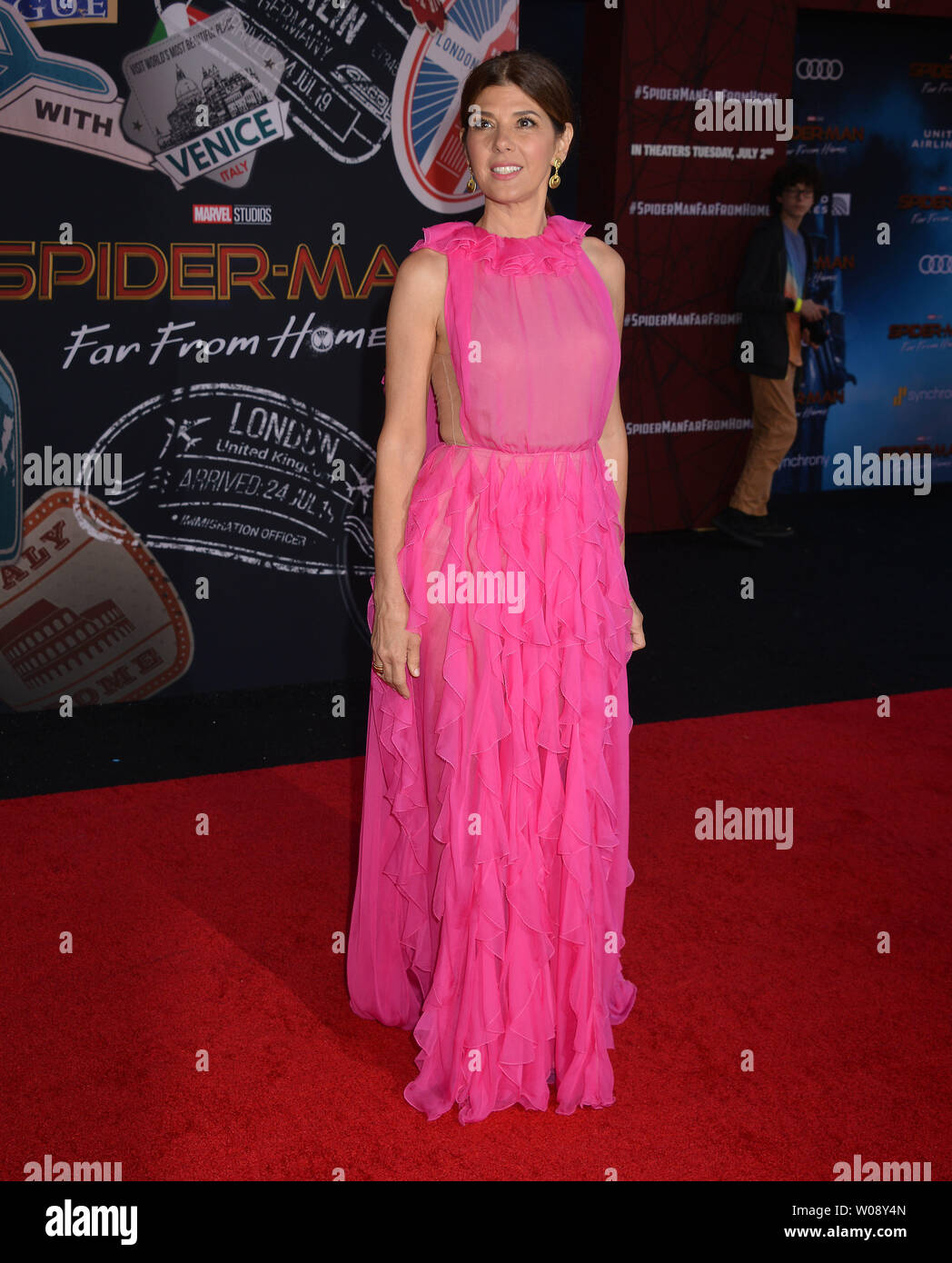 Los Angeles, USA. 26th June, 2019. Marisa Tomei 043 arrives for the premiere of Sony Pictures' 'Spider-Man Far From Home' held at TCL Chinese Theatre on June 26, 2019 in Hollywood, California Credit: Tsuni/USA/Alamy Live News - Stock Image