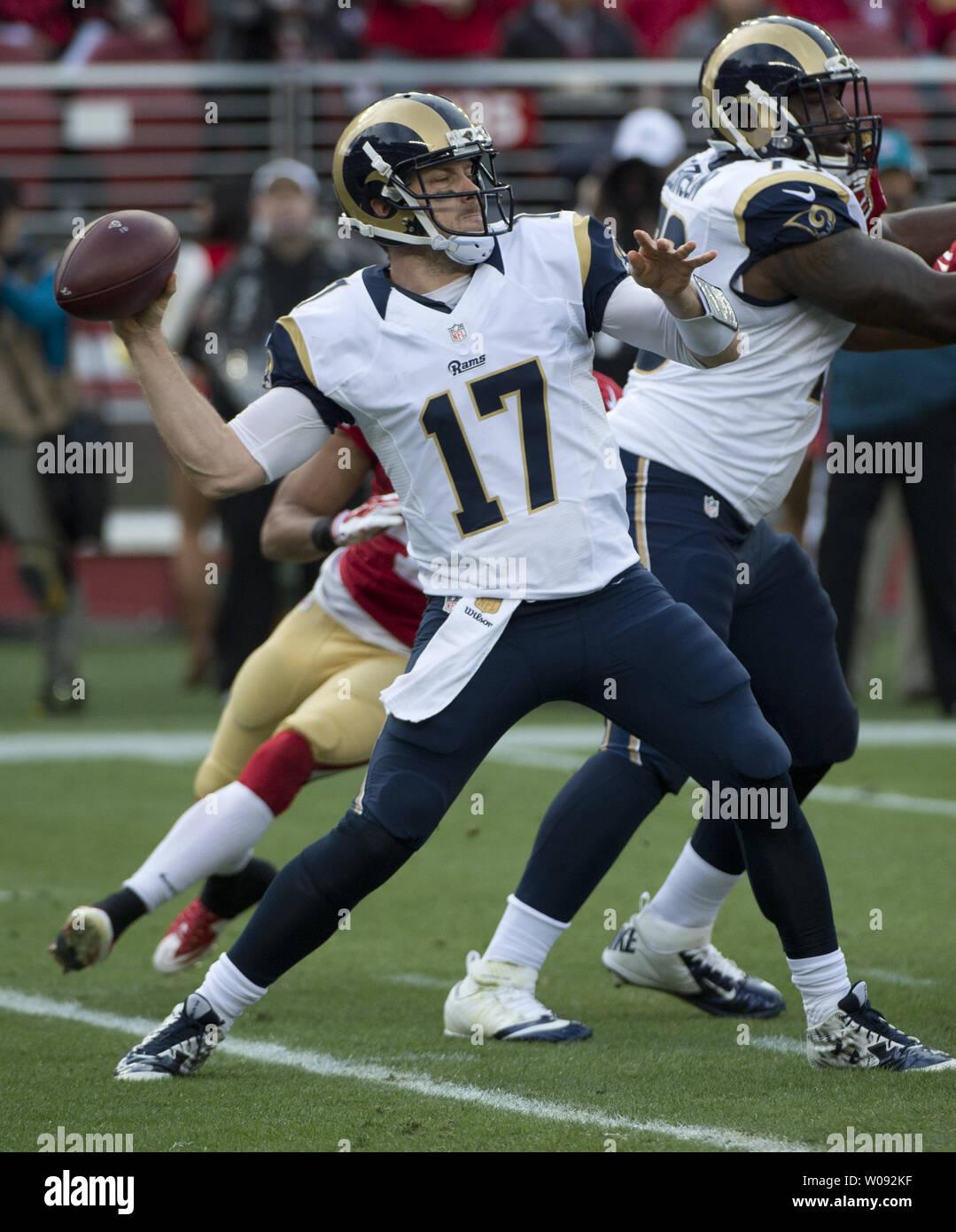 74d8350e St. Louis Rams quarterback Case Keenum drops back to pass against the San  Francisco 49ers