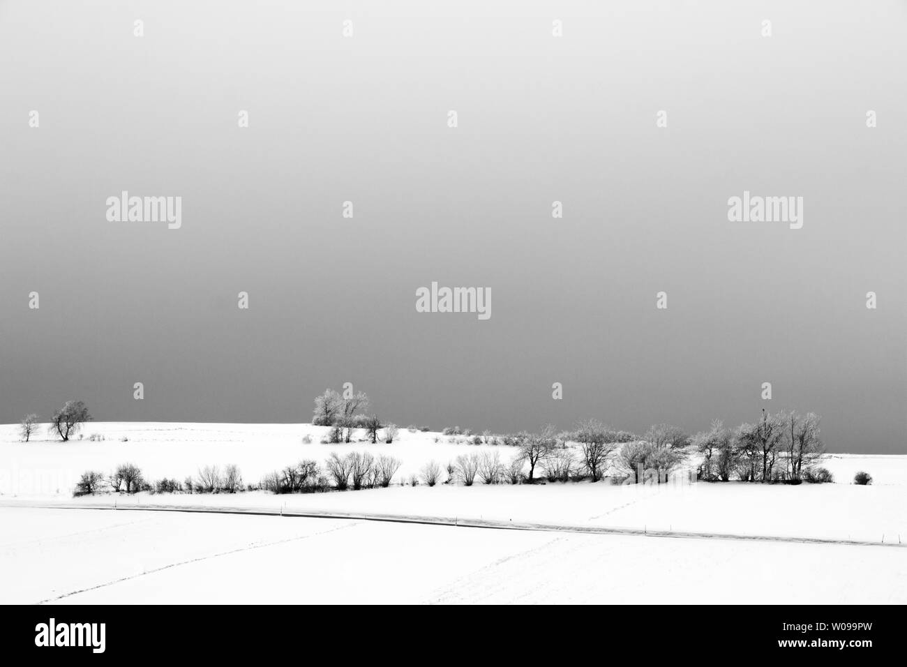 Winterlandschaft - Stock Image