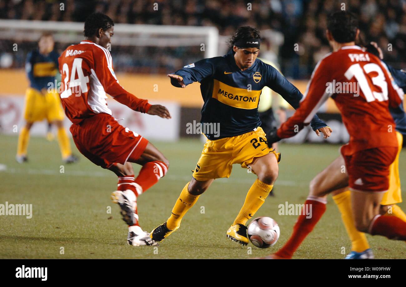 Ever Banega C Of Argentinas Football Club Boca Juniors
