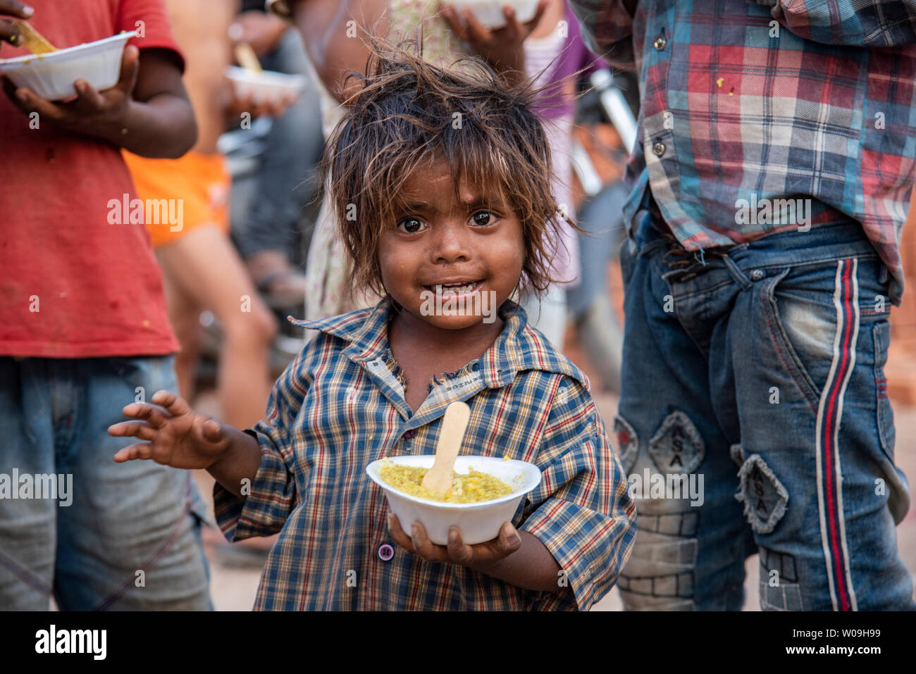 Poor Child High Resolution Stock Photography And Images Alamy
