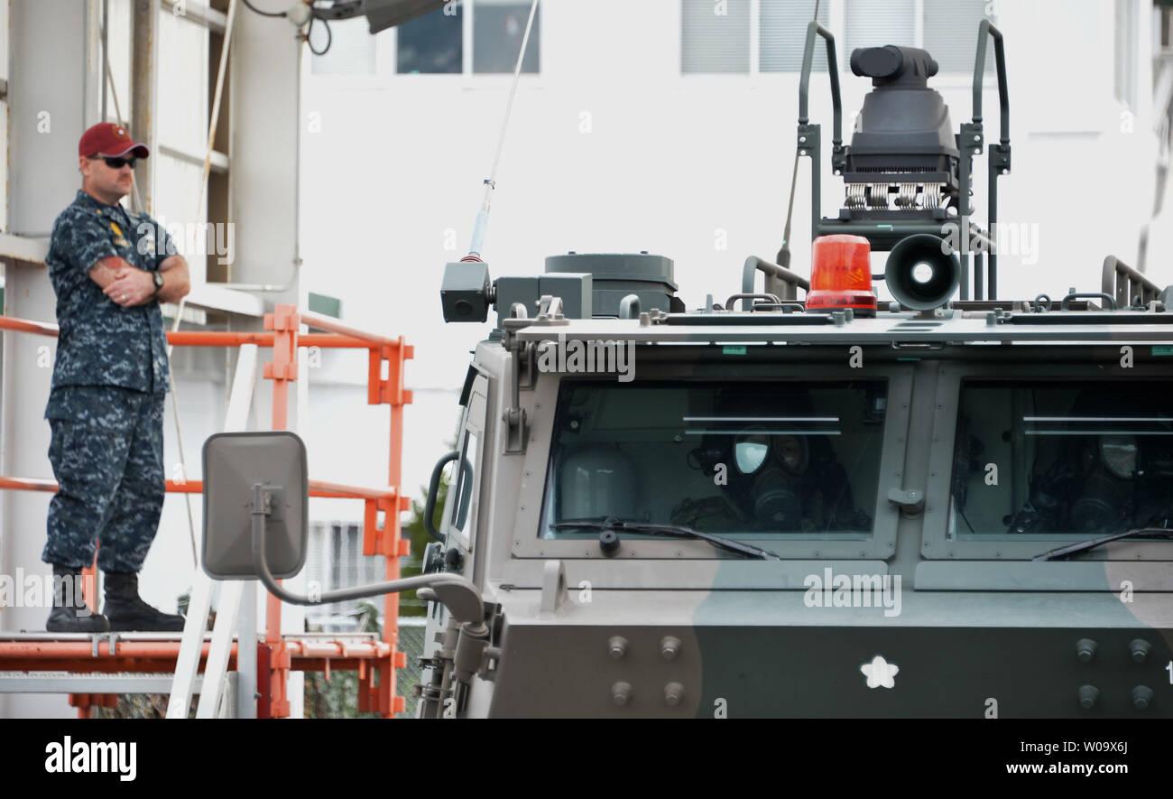 United States Security Department of CFAS(Commander Fleet Activities