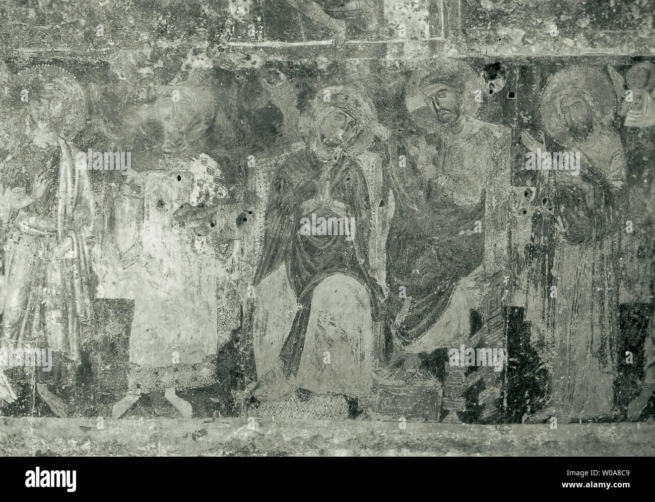 italy, basilicata, matera, santa lucia alle malve convent Stock Photo