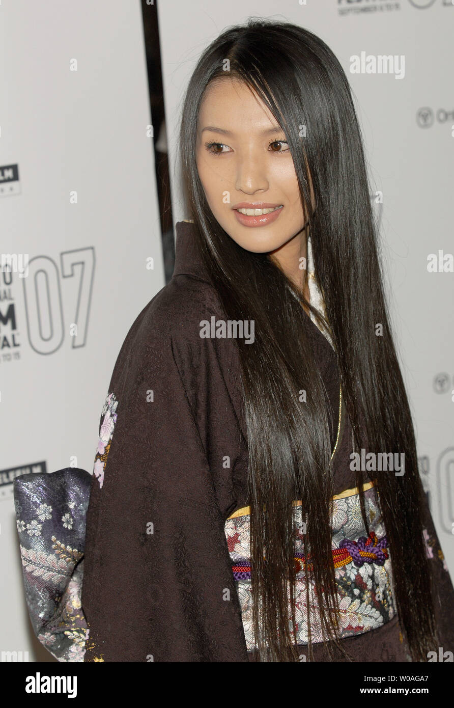 Japanese actress Sei Ashina arrives for the Toronto International Film  Festival premiere of