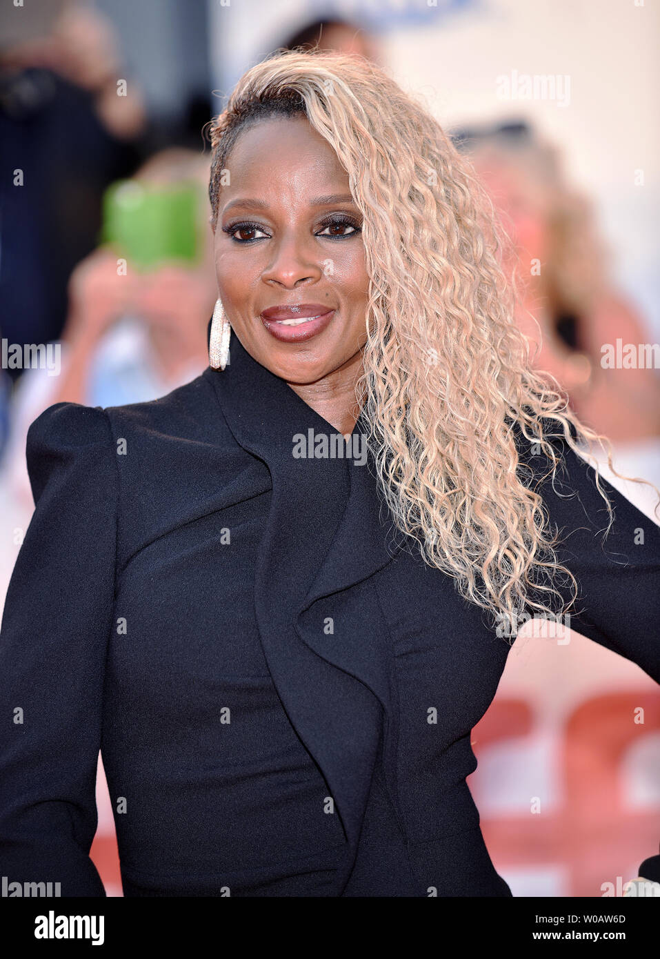 Mary J. Blige attends the Toronto International Film Festival Gala screening of 'Mudbound' at Roy Thomson Hall in Toronto, Canada on September 12, 2017. Photo by Christine Chew/UPI Stock Photo